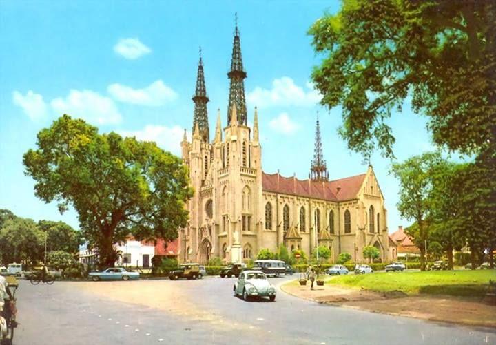 Gereja Katedral tahun 1970