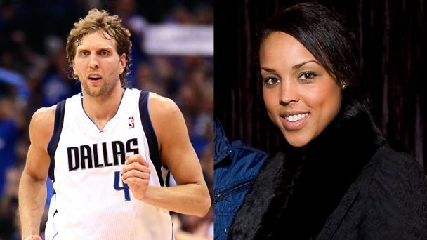 Mix-n-Match: Interracial Celebrity Couples | Dirk Nowitski and Jessica Olsson