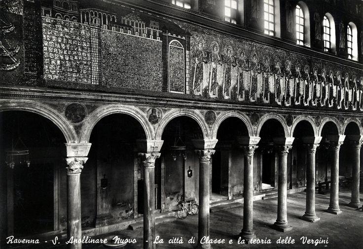 Basilica of Saint Apollinare in Classe postcard - Flickr by @Striderv [ #ravenna #myRavenna #illustrator #vintage #posters]
