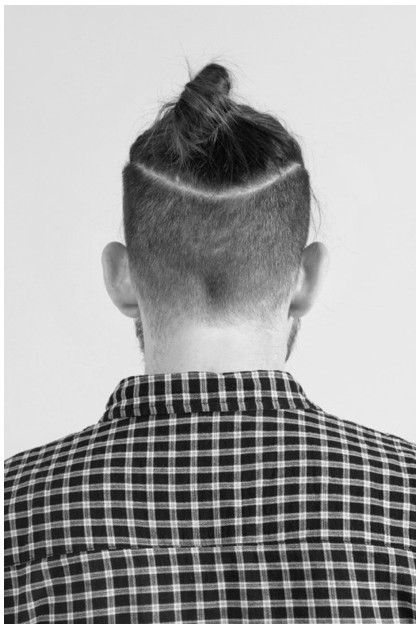 Undercut man bun: my child's latest obsession