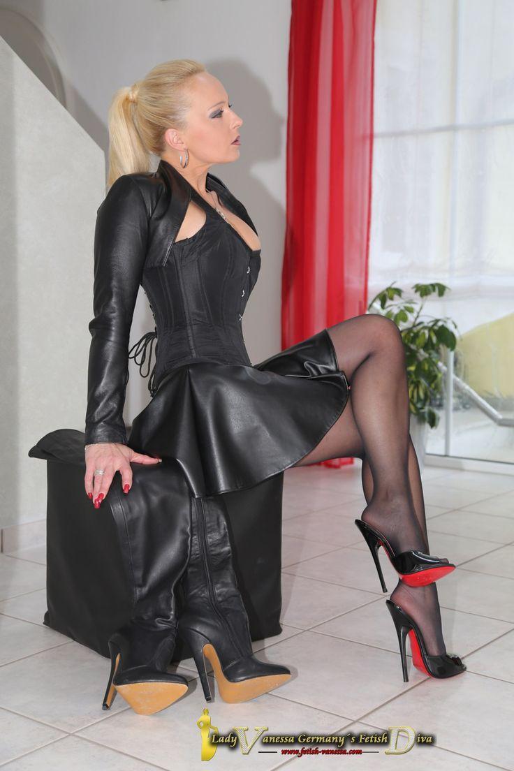 German fetish lady