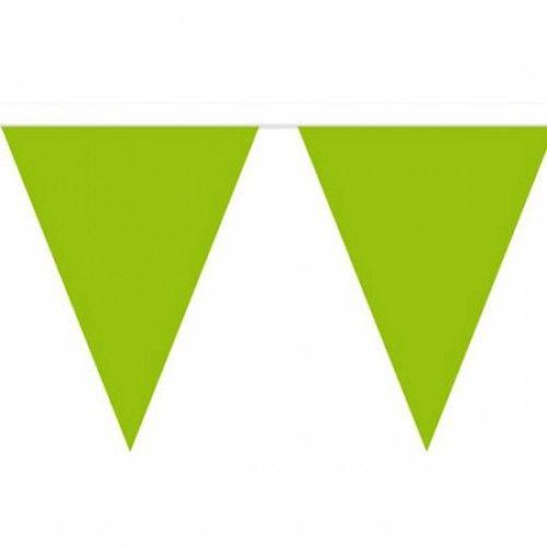 vlaggenlijn groen minecraftfeestje, dinofeest