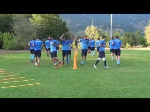 Complete soccer training warm up....3 - YouTube