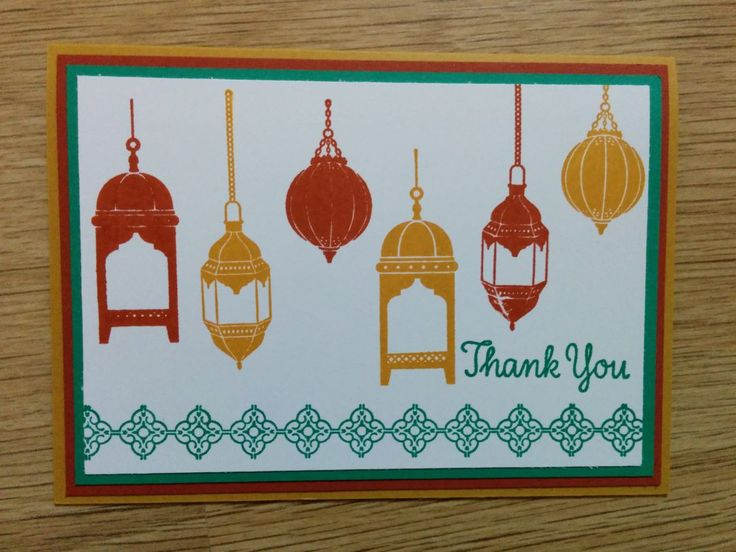 Morroccan Nights Lamps - Het Knutsellab - Stampin Up #stampinup #crafts #knutselen #stempelen