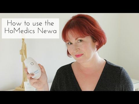 Watch my Demonstration of the HoMedics Newa skin rejuvenation system - Sally Akins