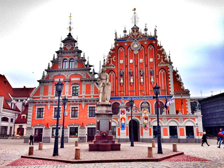the house of the blackheads, in Riga, Latvia **** read more about Riga and my travels on jump-on-board.com