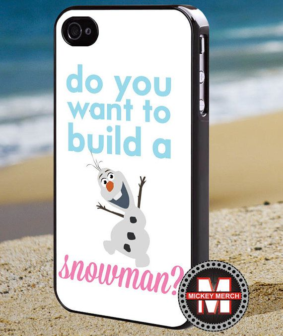 Olaf quote frozen  Iphone 4 Case  iPhone by MickeyMerchandise, $15.00