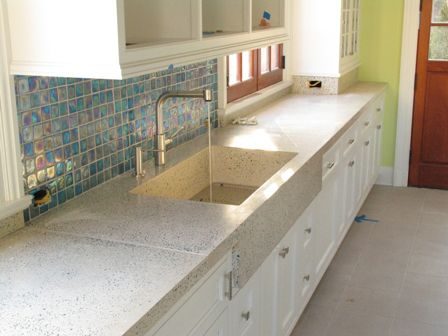 ... Countertops on Pinterest Trough sink, Countertops and Concrete