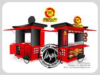 Desain Logo   Logo Kuliner    Desain Gerobak   Jasa Desain dan Produksi Gerobak   Branding: Desain Gerobak Hokkaido Ramen