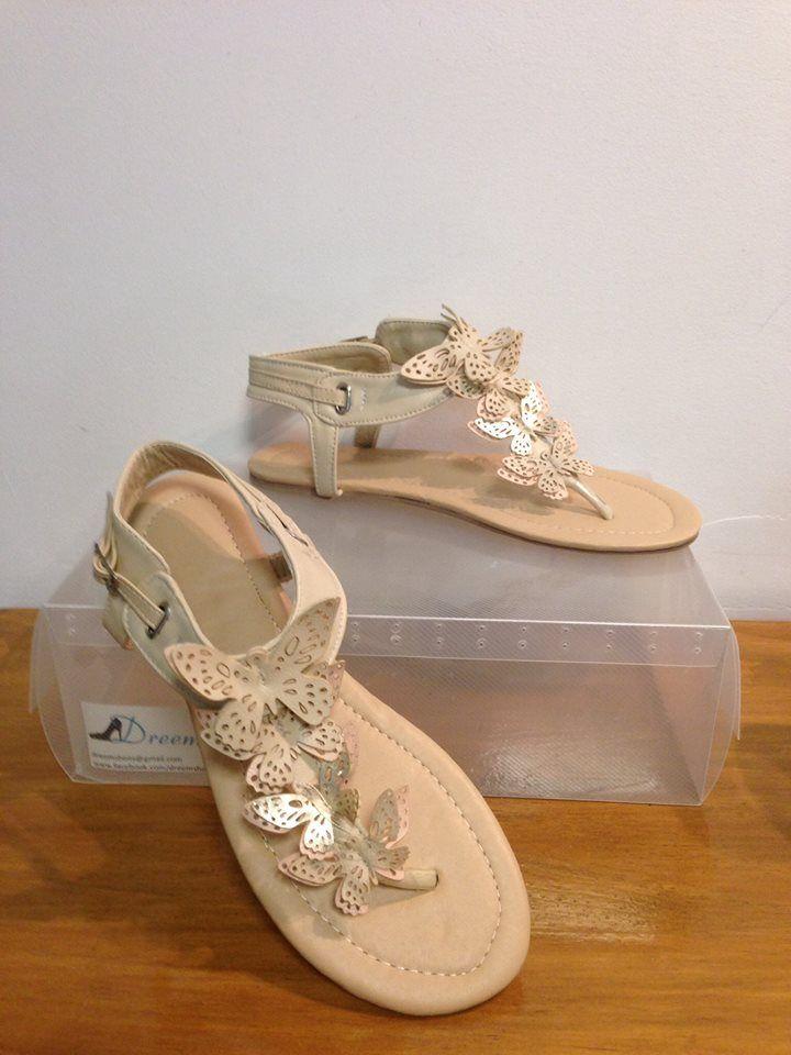 """Dreem Shoes """"Flutter"""" Beige  Size 4-13  $35 www.facebook.com/dreemshoes"""