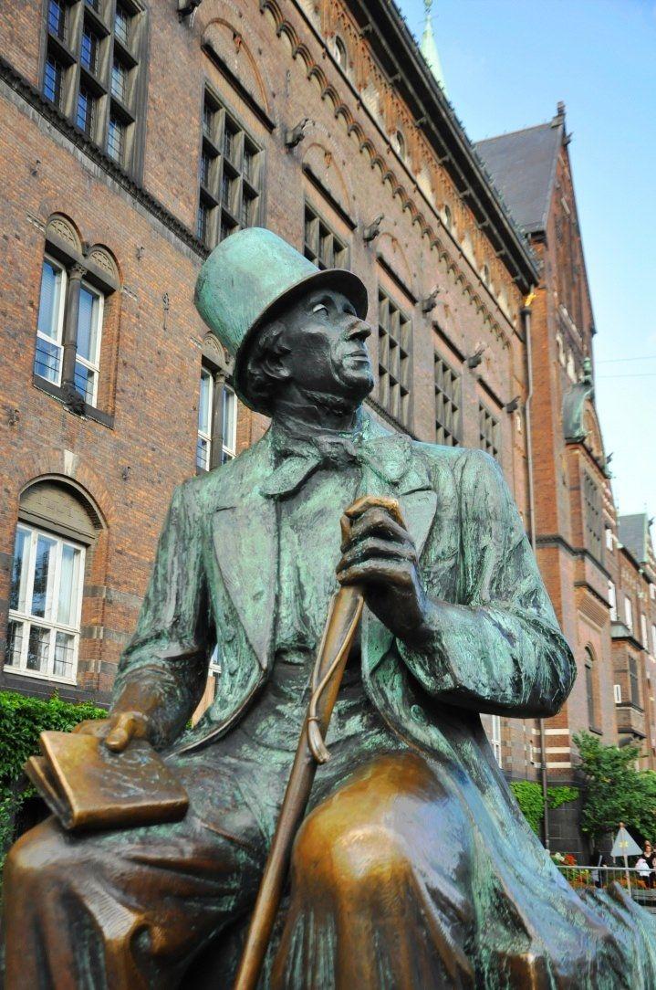 Danmark H.C. Andersen--he and Kierkegaard were contemporaries