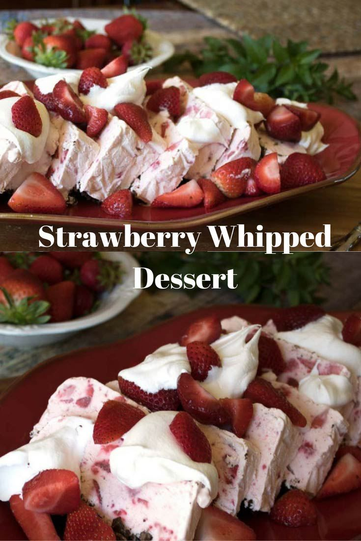 Strawberry Whipped Dessert is a frozen treat that is sweet and delicious and will have you begging for more. This easy dessert will quickly become a family favorite because of its gorgeous presentation and ease of preparation.