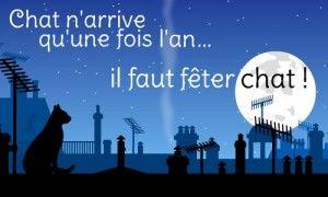Choyeux Channiversaire Chat anniversaire