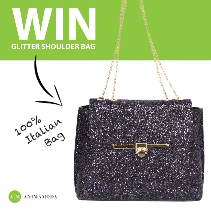 Enter our weekly competition and be in with a chance to win one of our beautiful Italian Bags.