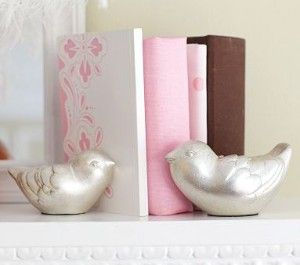 Strikingly Idea Bird Bookends. Silver Leaf Bird Bookends 445 best images on Pinterest  Book holders and