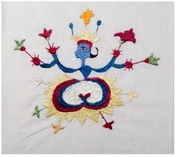 Hyd&Spook: Traditional Embroidery Forms: Chamba Rumal From Himachal