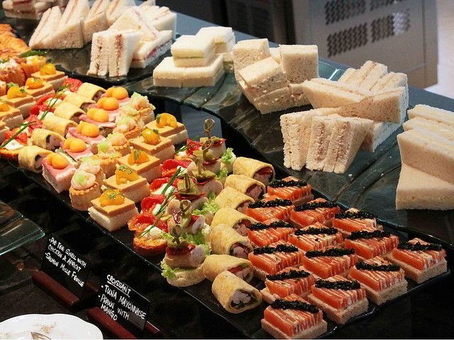 Sandwiches...display idea