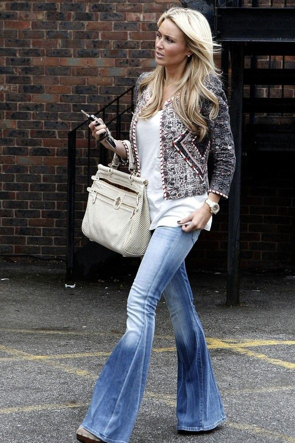 64673 best images about Flared jeans 2 on Pinterest | Flare, Haute ...