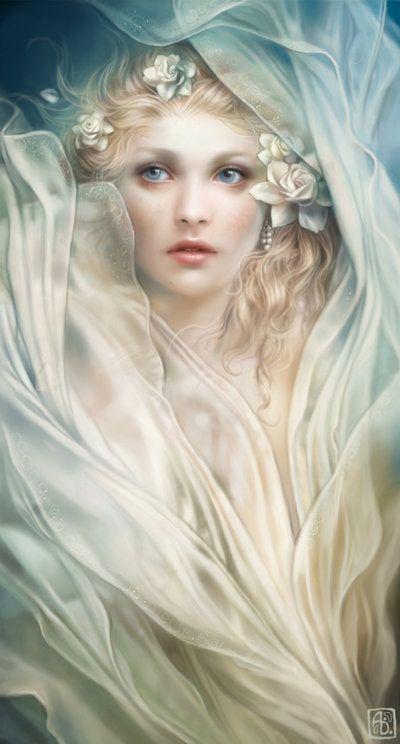 Gorgeous and Angelic Digital Art by Anna Dittmann