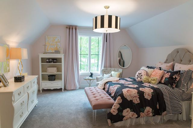Real Fit Housewife: Welcome to my Home: Our Little Slice of Heaven  PB Teen bedding Emily Merritt