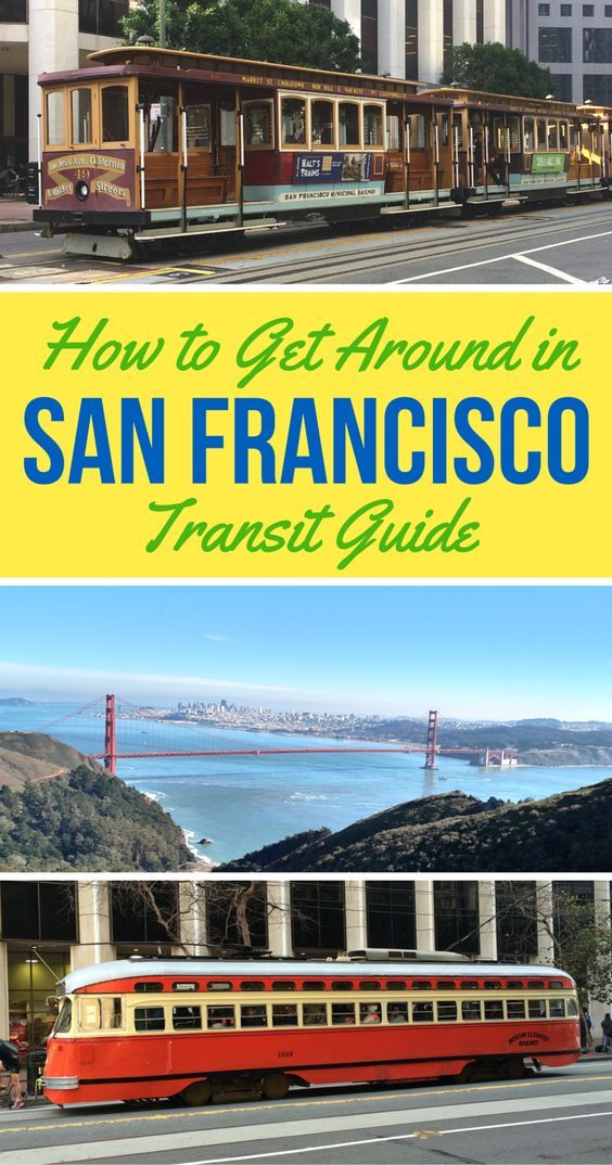 Planning a visit to the City by the Bay? Here's what you need to know about public transit and other transportation options in San Francisco, California. Cable cars, BART, buses, and more.