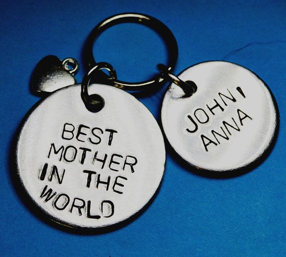 Personalised Mothers day gift Best mother by BeesHandStampedGifts