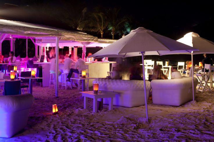 Le Plage Restaurant at Tom Beach Hotel  St. Jean Beach, St. Barths FWI