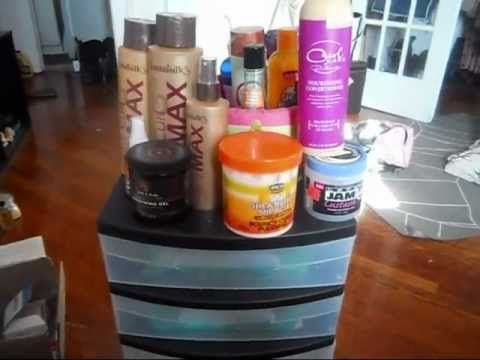 *NEW* Natural Hair Product Storage