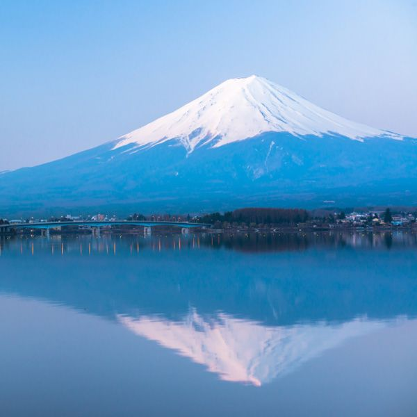 Lac Kawaguchi et Mont Fugi, Japon