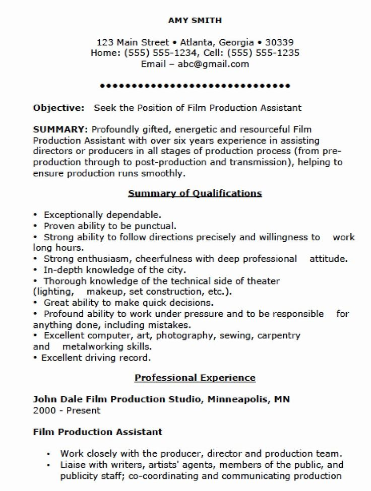 26++ Manufacturing supervisor resume examples Format