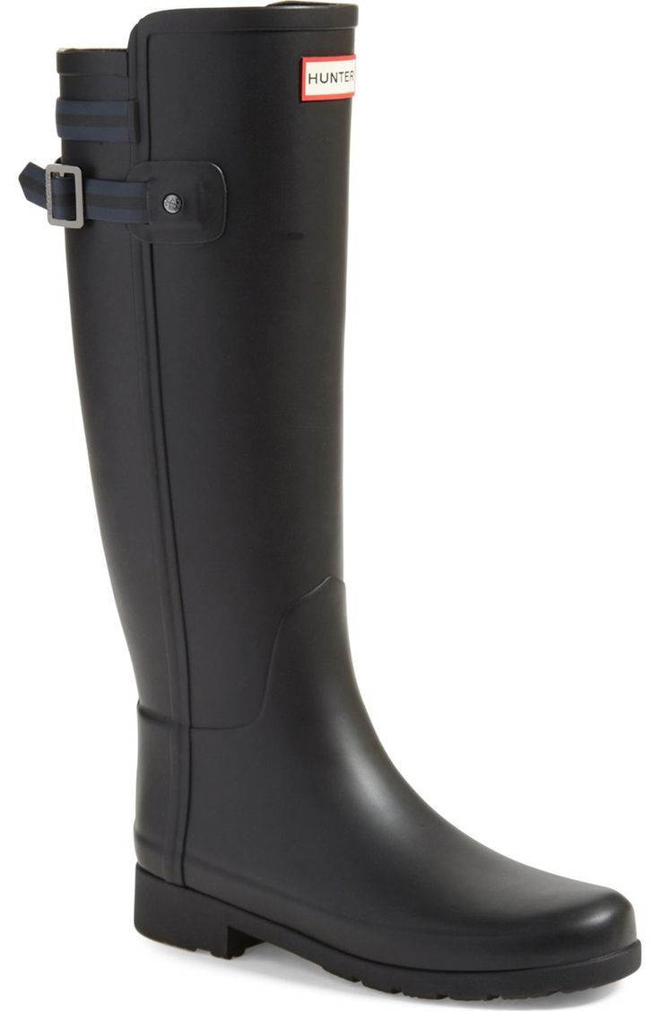 Love the new sleek look of these Hunter boots. These are definitively a hot item at the NSale.