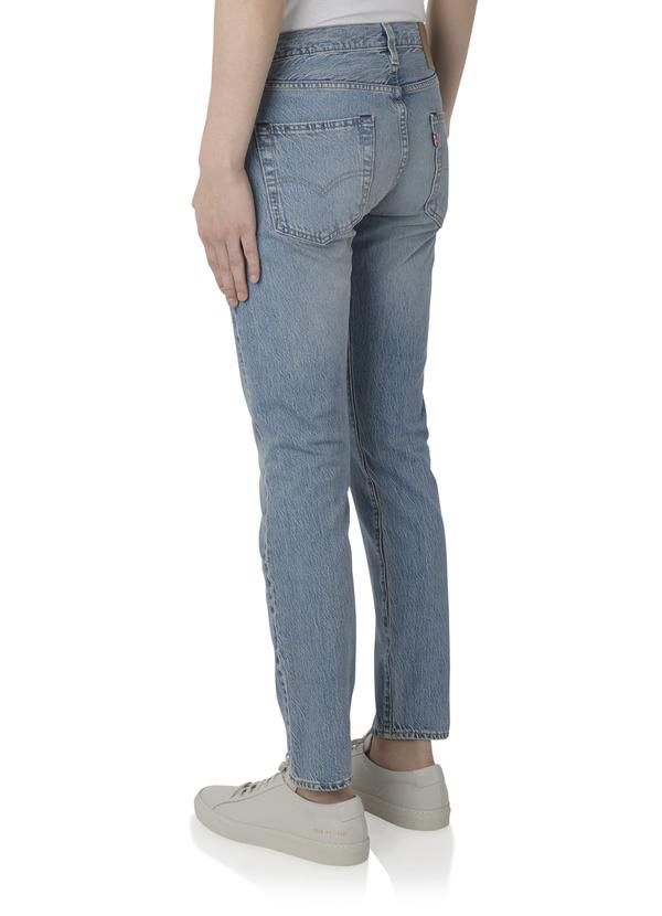 28106e9f20e432 Levi's - 501 Slim Taper Fit Jeans in Cotton Ball – gravitypope