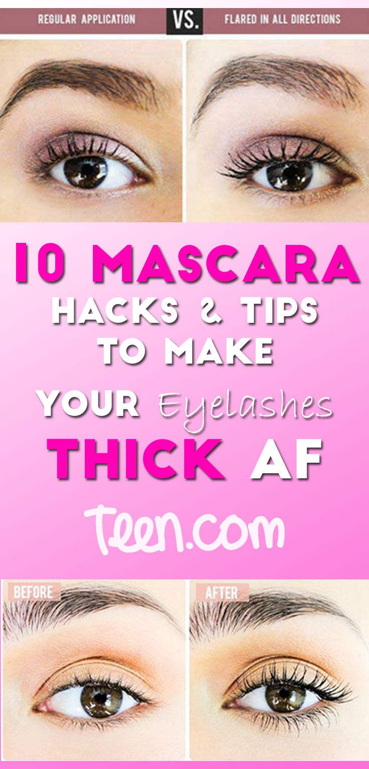 So, if you desperately want you lashes to look thick without wearing falsies or causing a big mess on your eyeballs, but aren't quite sure how to do that, you're in luck; the following hacks will help you achieve the volume you desire while still looking like a normal human!