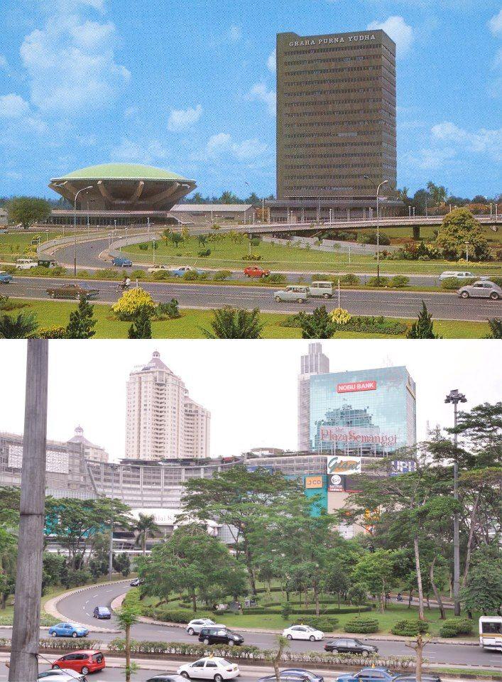 Semanggi 1978 dan 2011