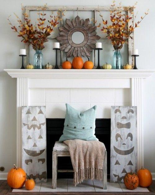 Оформление Хеллоуина. Камин. #Хэллоуин #Helloween  #оформлениехэллоуина #страшныйхеллоуин #фонарьджека #Хеллоуин #оформление #декор #дизайн #банкет  #флористика #композиция