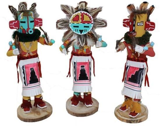 "Navajo Kachina Doll; 10""- Native American Indian Dolls For Sale $45.00 @ Foutztrade.com #NativeAmericanArts  Authentic Native american Design Doll  #NavajoCulture #NativeAmerican #KachinaDolls #Handmade #IndianArts #VintageArts #Authentic #NativeAmericanDesign #SouthwesternArts #Navajomade #Arts #Crafts"