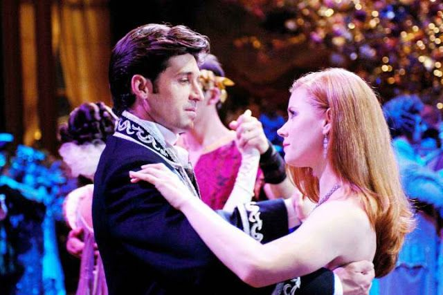 Romantic Movie Scene Spotlight   Enchanted, Ten Years Later. All text © Rissi JC; post first published (in full) on Silver Petticoat. #Romance #MovieScene #Movie #Disney #AmyAdams #PatrickDempsey