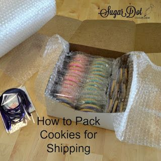 Tutorial - How to Ship Sugar Cookies
