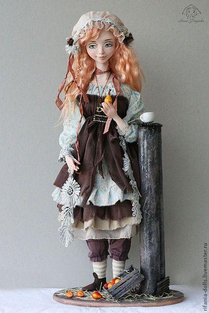 Коллекционные куклы ручной работы. Заказать Барбара. Анна Фадеева. Ярмарка Мастеров. Коллекционная кукла, сатин