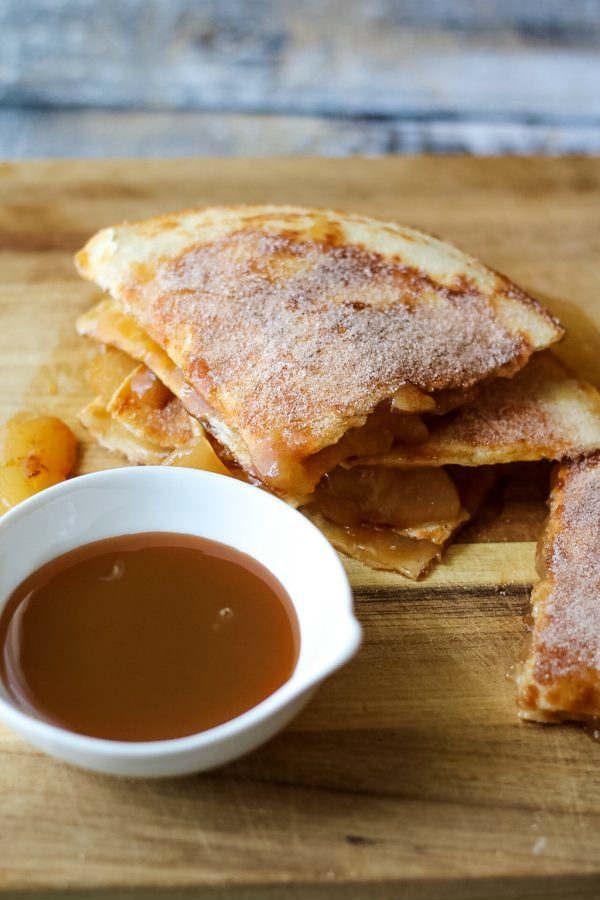 Caramel Apple Pie Quesadillas Recipe Caramel Apple Pie Quesadillas