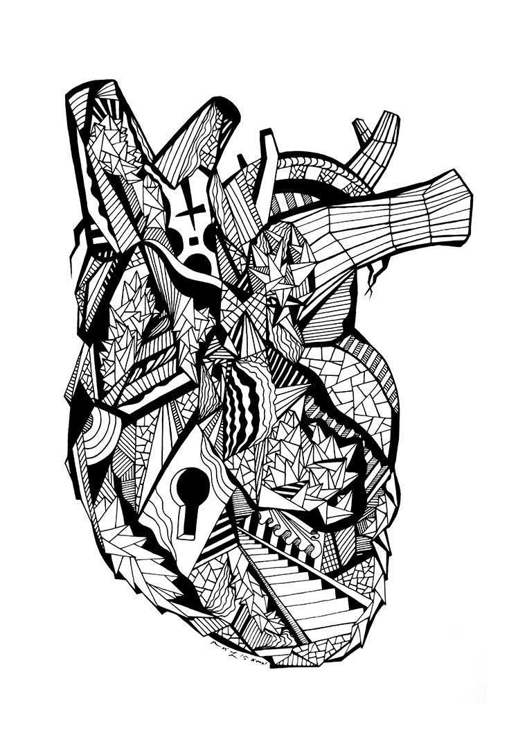 24 Of The Most Creative Free Adult Coloring Pages - Kenal ... | free printable coloring pages for adults