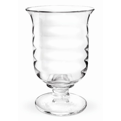 Portmeirion Sophie Conran Glassware Hurricane Lamp. Untraditional wine glass...