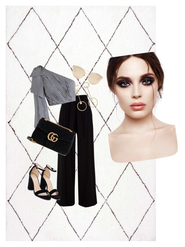 """""""◇"""" by clarisa-pop on Polyvore featuring Zimmermann, Nasty Gal, Gucci, Chloé and Christian Dior"""