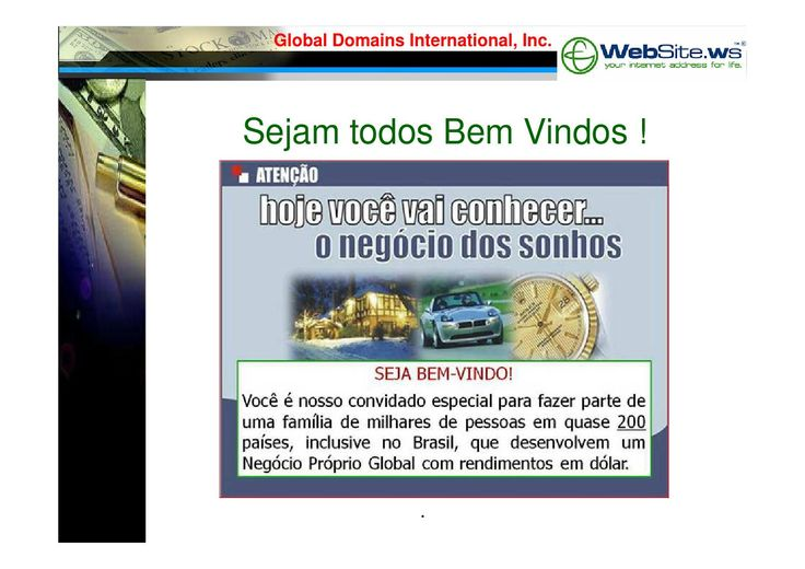 Apresentação da GDI - Global Domains International