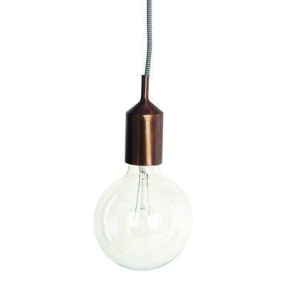 Lyshylse E27 lampe, kobber  i gruppen Belysning / Lamper / Taklamper hos ROOM21.no (113645)