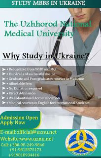 The Uzhhorod National Medical University, has stirred firmly-up with the big integrations in the study of general medicine. Sometime, students have lack of guidance to find best universities for dentistry so no problem we give the guidance about the bachelor of dentistry courses that offers in only 4000 USD in English language in Europe. Furthermore, our university also offers the postgraduate medical education and graduate courses.