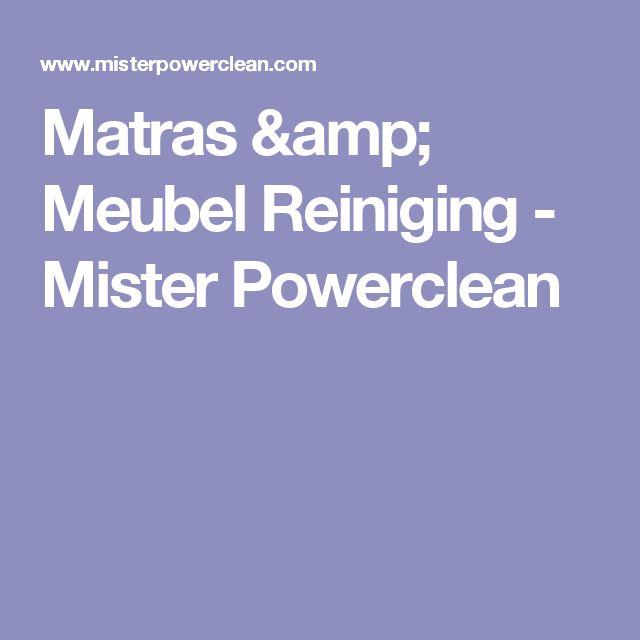 Matras & Meubel Reiniging - Mister Powerclean