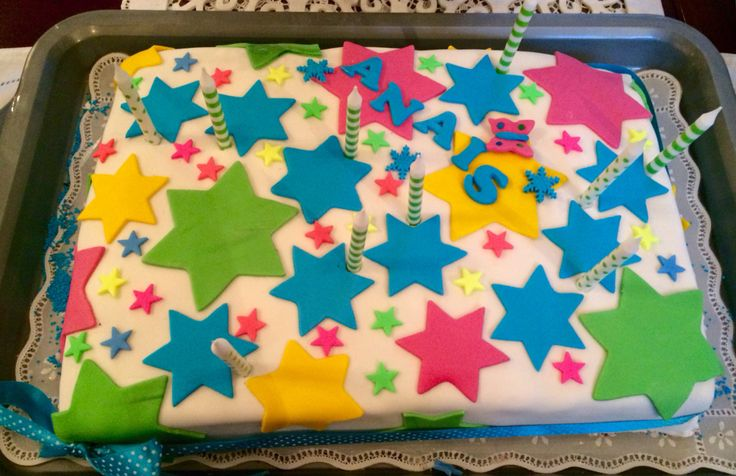 Superstar Birthday Cake
