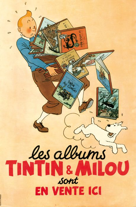 Well, I needed a Tintin board sometime!! XD