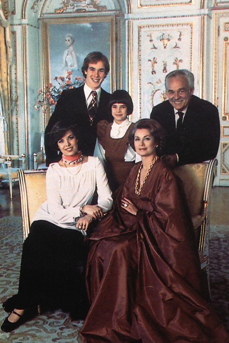 Monaco royal family 1976